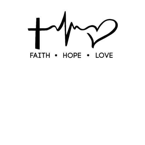 Love Faith Hope Quotes: Faith, Hope, Love, Christian, Bible Verse, Quote Trucker