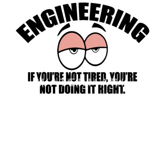 Engineering If You're Not Tired Engineer Trucker Cap - white/black
