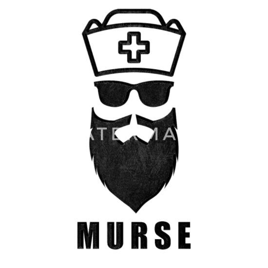 Murse Male Nurse Funny Graduation Gift Idea Trucker Cap