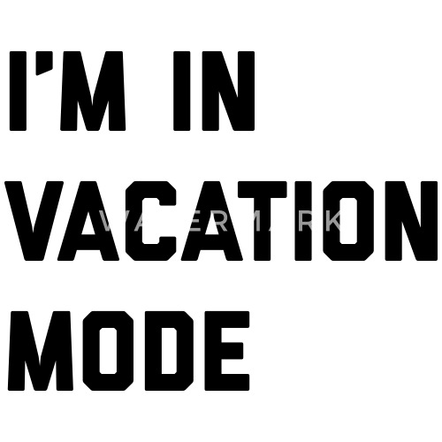 Vacation Mode Funny Quote Trucker Cap Spreadshirt