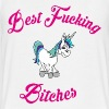 BEST FUCKING BITCHES - Women's Flowy Muscle Tank by Bella