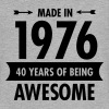 Made In 1976 - 40 Years Of Being Awesome - Women's Flowy Muscle Tank by Bella