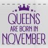 Queens Are Born In November - Panoramic Mug