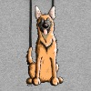 Happy Malinois - Belgian Shepherd Dog - Colorblock Hoodie