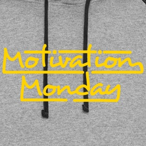 Motivation Monday - Colorblock Hoodie