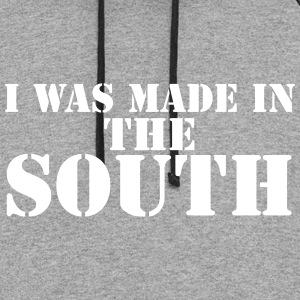 I Was Made In The South - Colorblock Hoodie