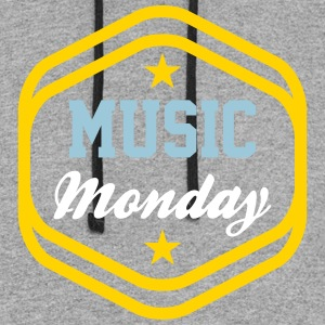 Music Monday - Colorblock Hoodie