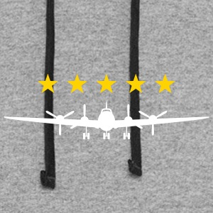 Propeller Aircraft - Colorblock Hoodie