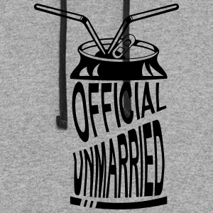 Official Unmarried Logo Design Cool T-shirt - Colorblock Hoodie