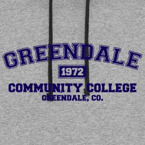 Greendale Community College - Colorblock Hoodie