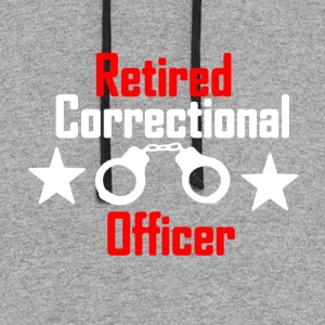 Correctional Officer Tee Shirt - Colorblock Hoodie