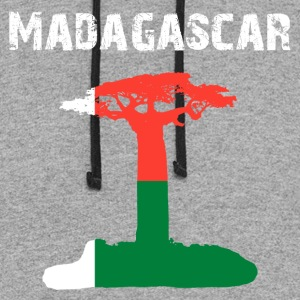 Nation-Design Madagascar Baobab - Colorblock Hoodie