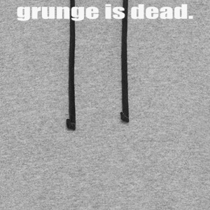 Grunge is Dead - Colorblock Hoodie