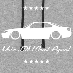 Make JDM Great Again! - S15 - Colorblock Hoodie