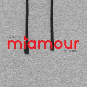 Miamour Dating Site MERCHANDISE - Colorblock Hoodie