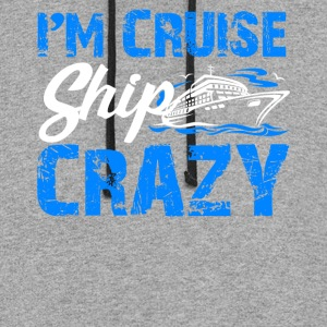 Cruise Ship Shirt - Colorblock Hoodie