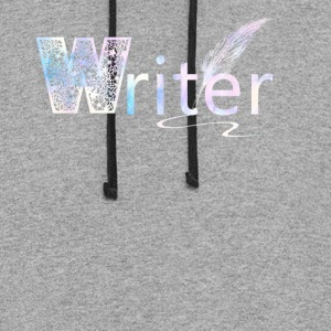 Writer Shirt - Colorblock Hoodie