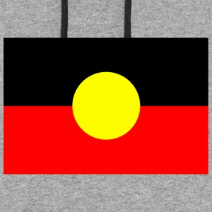 ABORIGINAL FLAG - Colorblock Hoodie