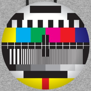 Television Test Card - Colorblock Hoodie