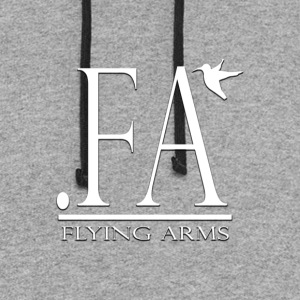 FLYING ARMS Launch Edition - Colorblock Hoodie
