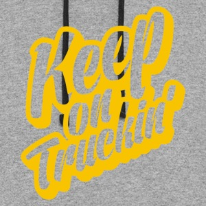 Keep On Truckin - Colorblock Hoodie