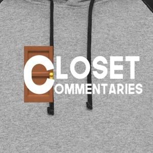 Closet Commentary Clothes - Colorblock Hoodie