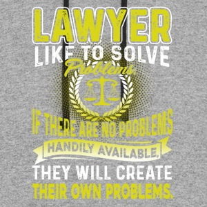LAWYER LIKE TO SOLVE PROBLEMS T SHIRT - Colorblock Hoodie