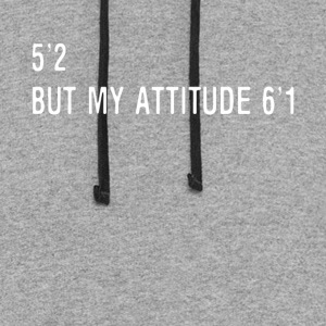 5 2 but my attitude 6 1 t-shirts - Colorblock Hoodie