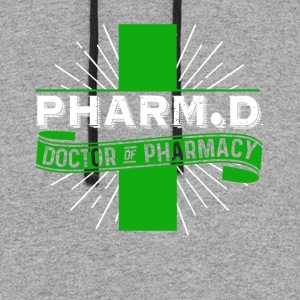 DOCTOR OF PHARMACY T SHIRT - Colorblock Hoodie