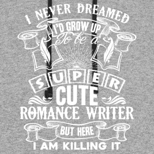 Romance Writer Shirt - Colorblock Hoodie
