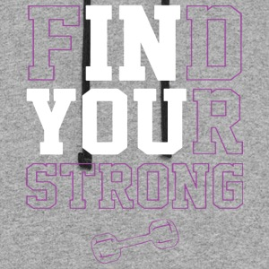 Find Your Strong t-shirts - Colorblock Hoodie