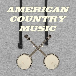American country music - Colorblock Hoodie