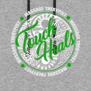 TOUCH HEALS SHIRT - Colorblock Hoodie