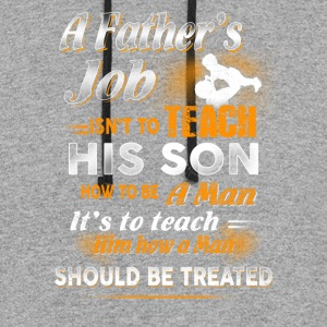 A Father s Job Farmer T Shirts - Colorblock Hoodie
