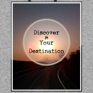 Discover you Destination. - Colorblock Hoodie