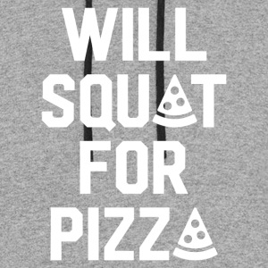Will Squat For Pizza - Colorblock Hoodie