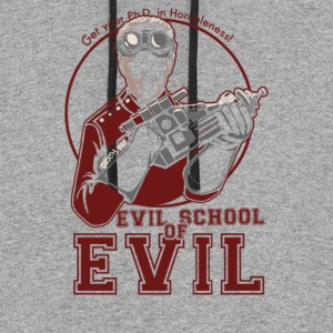 Dr.Horrible's Evil School of Evil - Colorblock Hoodie