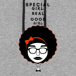 SPECIAL GIRL REAL GOOD GIRL - Colorblock Hoodie