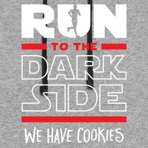 Run To The Dark Side, We Have Cookies - Colorblock Hoodie