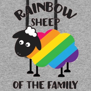 Rainbow Sheep Of The Family LGBT Pride - Colorblock Hoodie