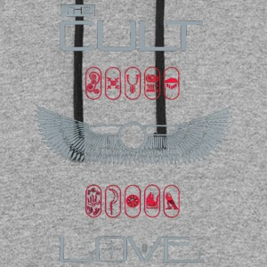 THE CULT LOVE SHIRT - Colorblock Hoodie