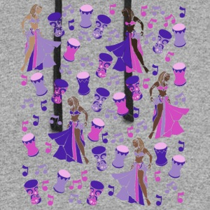 Purple Belly Dancer - Colorblock Hoodie
