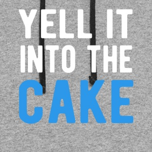 Yell It Into The Cake T-Shirt - Colorblock Hoodie