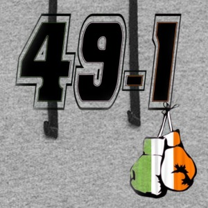 Somebody's O Has Got To Go 49-1 Boxing Match Shirt - Colorblock Hoodie