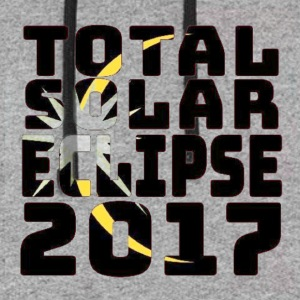 The Total Solar Eclipse August 21 2017 Perfect - Colorblock Hoodie