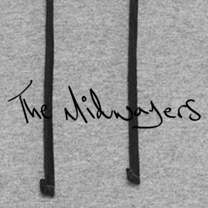 The Midwayers - Handwriting - Colorblock Hoodie