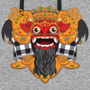 The Barong Mask - Colorblock Hoodie