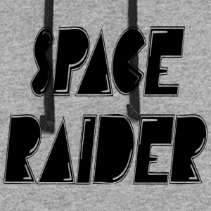 space raider - Colorblock Hoodie