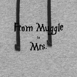 Muggle to Mrs. - Colorblock Hoodie