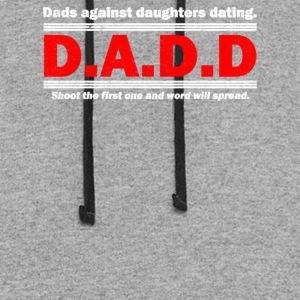 Dads Against Daughters Dating - Colorblock Hoodie